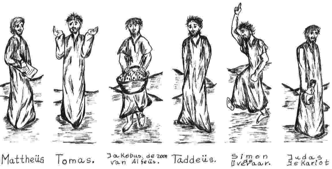 Kleurplaat Dieren Witsnuitbeertjes Kleurplaat Jezus En Zijn Leerlingen Kleurplaat Jezus En